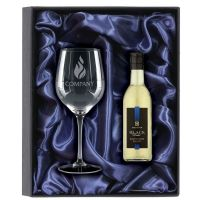 18.7cl White Wine & Glass Gift Set-KA031